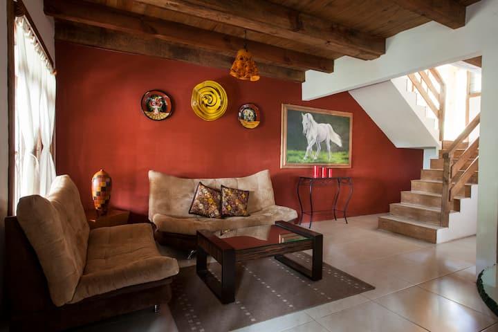 Villas Santiago C7. Acogedora cabaña.