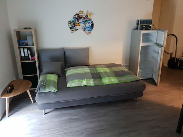 Moderne Einzimmerwohnung mit exzellenter Anbindung