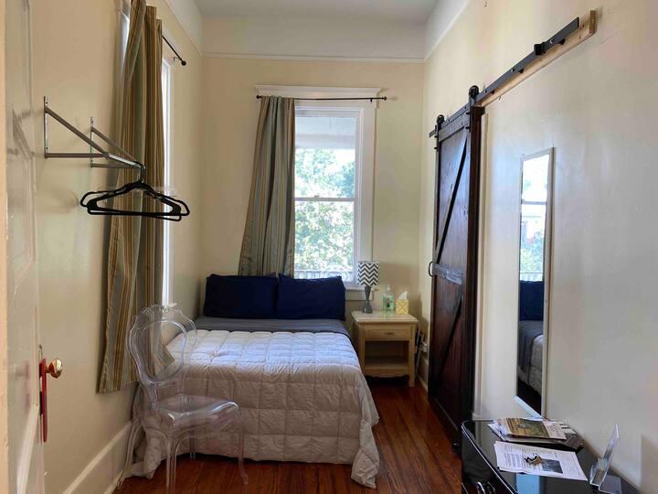 Corner room in historical home
