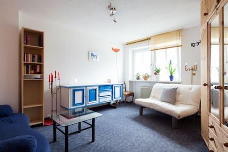 Schönes ruhiges helles Gartenzimmer - Pullach - 公寓