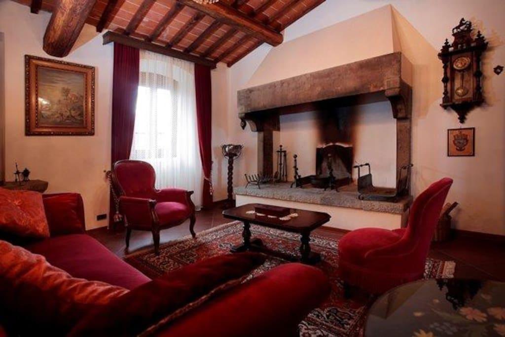 Living Room, (Residenza Concino) (winter)