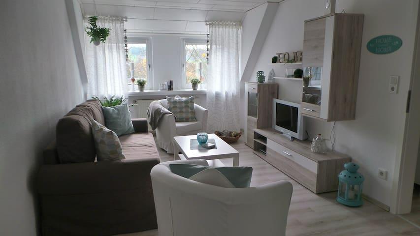 Gemütliche 60qm Wohnung  - Ennepetal - Apartemen