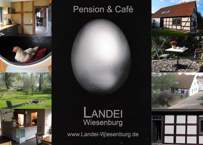 Landei.wiesenburg - Pension & Café - Wiesenburg/Mark - Hus