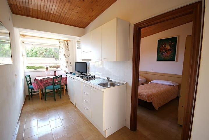 2room flat for 2/3 people with pool close to beach - Portoferraio - 公寓