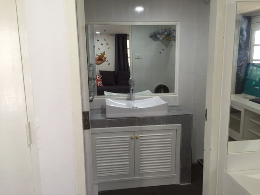 En-suite bathroom, all new fittings, shower, wc, etc.