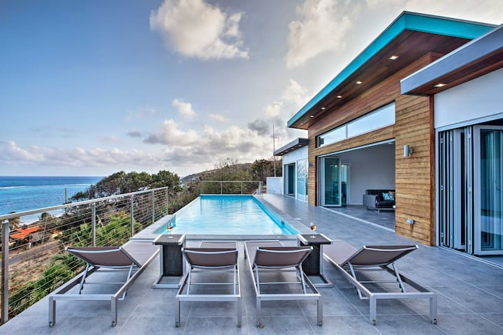 Luxury St. Croix Home w/ Oceanfront Pool & Views