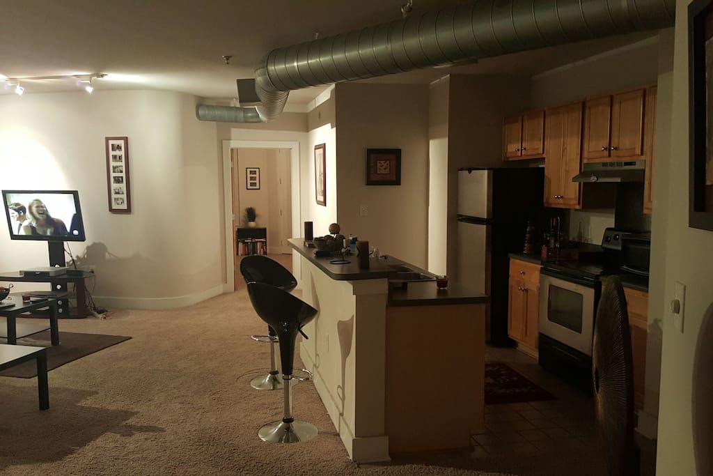 Brand new kitchen amenities