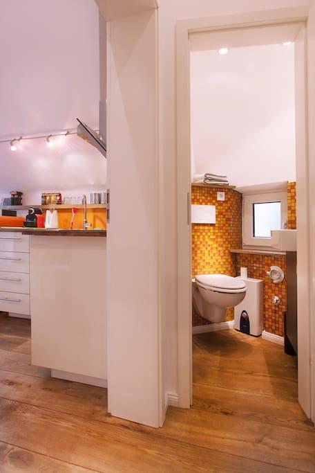 Bad und Küche