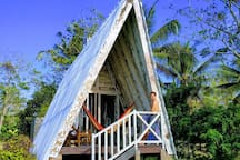 """""""We chose Bali for our holiday after finding your bungalows on Airbnb"""" Michael, Germany"""