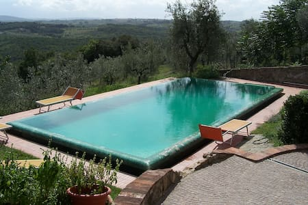 Flat with Pool 15 min from Florence - La Romola - Квартира