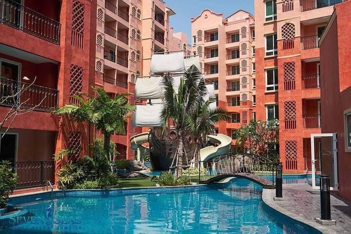 芭提雅最大网红水系公寓Seven Sea七海