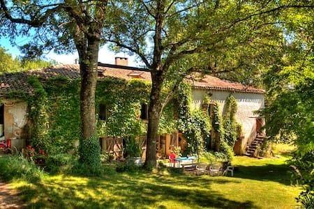 Fantastic country house with swimming pool - Salvagnac