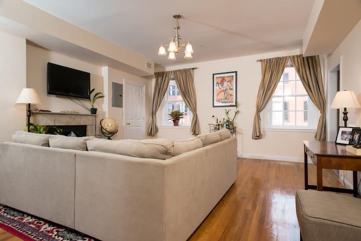 Spacious, Sunny, Elegant, Heart of Beacon Hill - Boston - Apartamento