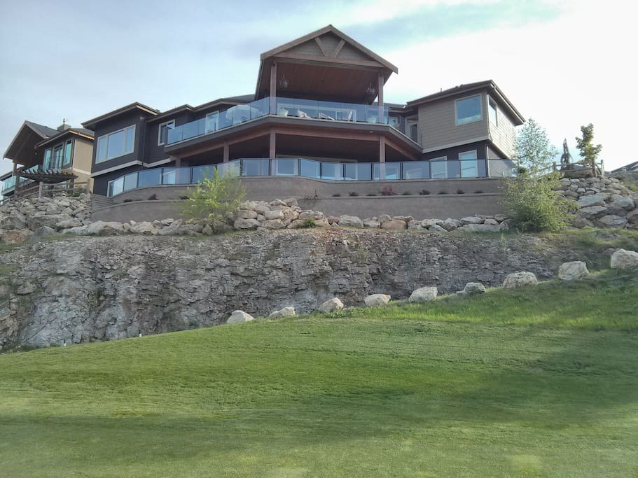 Exterior View From the Fairways