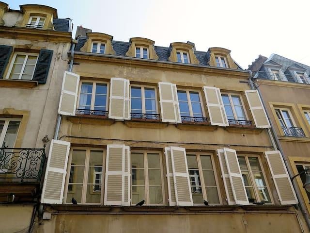 Duplex de charme, 72m2 Metz centre - メス - アパート