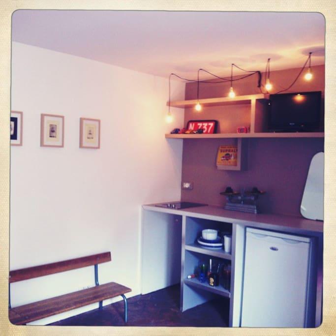 Lovely studio in the trendy Marais