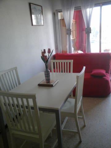F1 LUXUEUX AVEC GARAGE - Balaruc-les-Bains - Apartamento