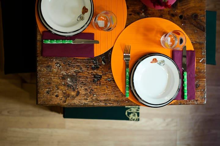 Uffizi Vintage Apartment + dinner