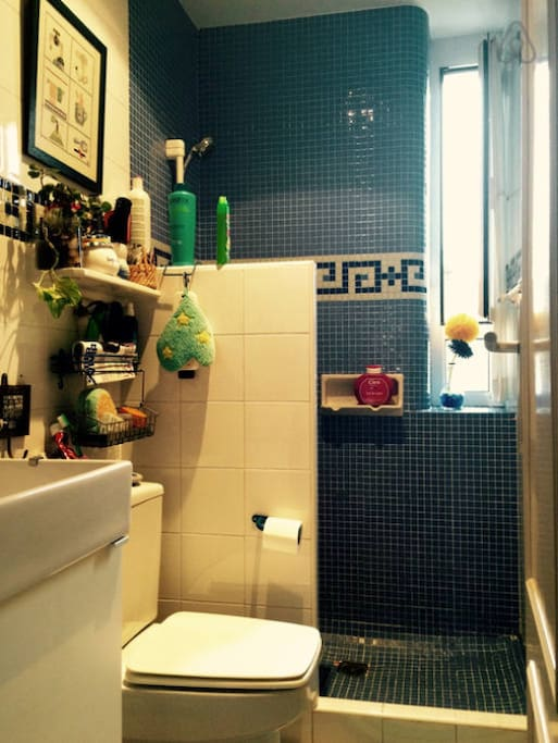 Baño reformado.