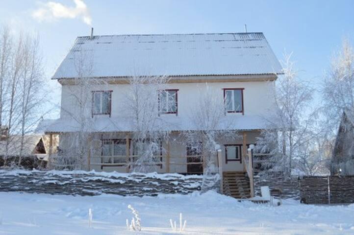 Эко Дом Соломинка.Двухместный номер - Khrabrovo