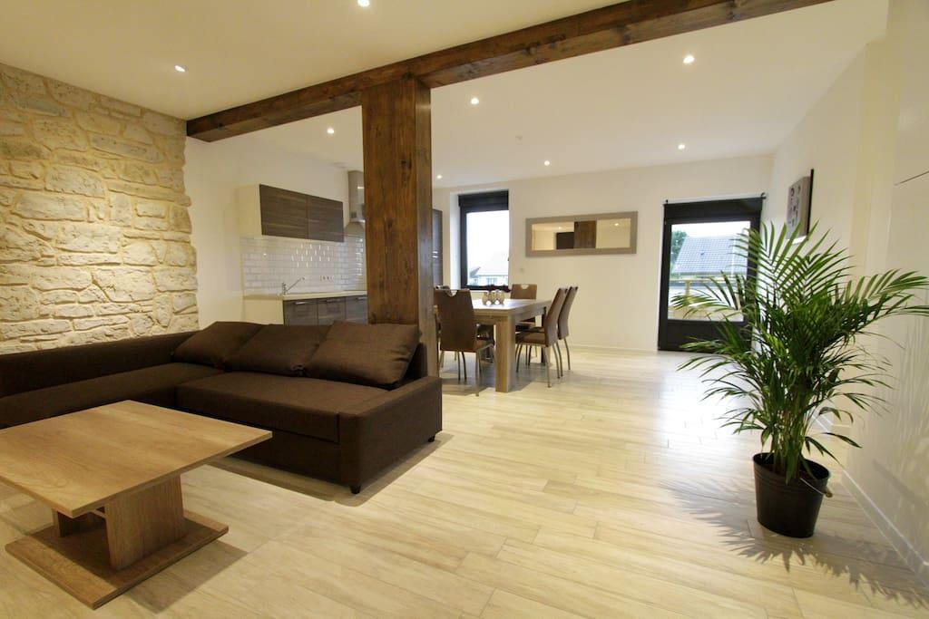 le moulin appart 39 h tel de charme oscar 65 m apartments for rent in baldersheim alsace. Black Bedroom Furniture Sets. Home Design Ideas