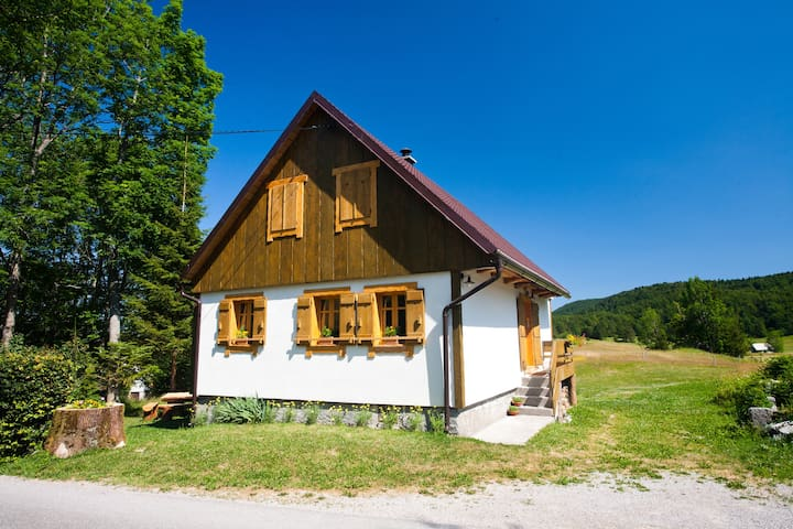 Croatia- rural house Margherita - Mrkopalj - Chalet