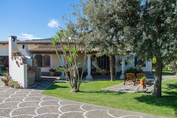 Villa LA CESA for 6-10 persons - San Felice Circeo - 別荘