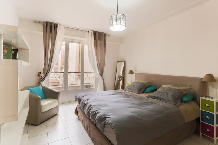 Beautiful 3 rooms Sea/Center - Nice - Apartemen