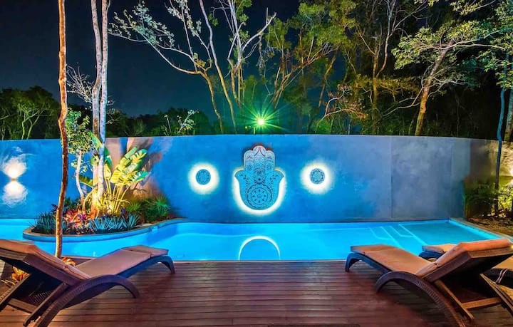 STUNNING TULUM DREAM VILLA CLOSE TO BEACH!