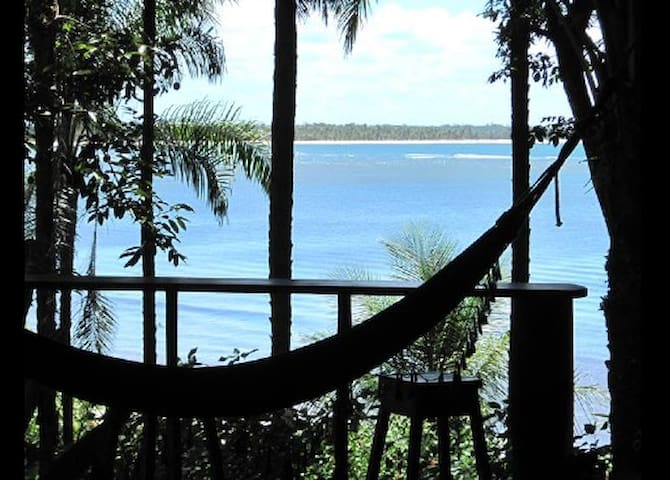 DENDE LOFT  bangalô a beira mar. - Ilha de Boipeba - Cairu - Bed & Breakfast