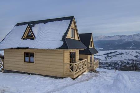 Najwyżej położone domki w Polsce - Zakopane - Alpehytte