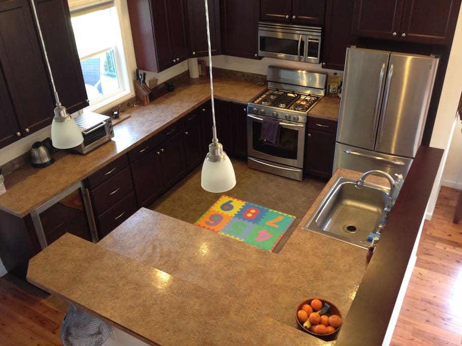The entire house, including our beautiful kitchen, was completely remodeled in 2007.