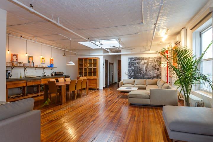 Amazing 3 BR Penthouse Prime SOHO! - Nueva York - Loft