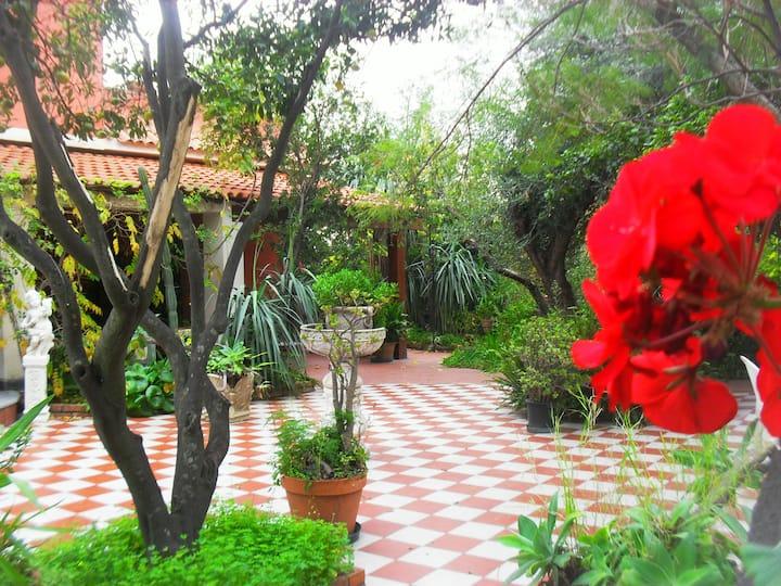Suite panoramica B&B Villa Lidia Acireale, mare.