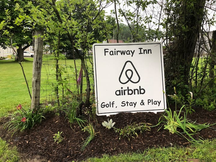 Fairway Inn,  Hiking-Biking-Golf Sleeps 6