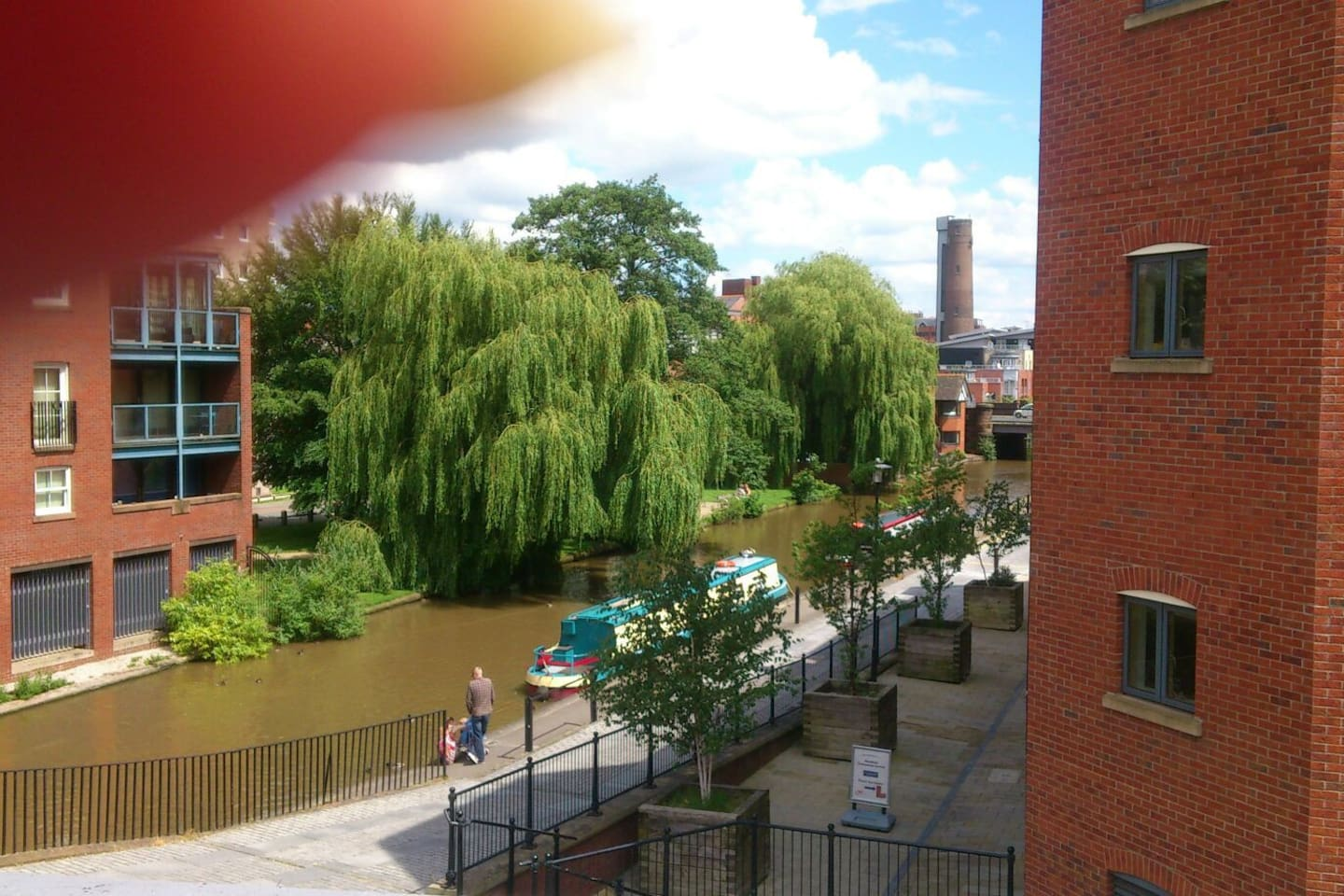 View over the Shropshire Union Canal that runs through the heart of the City of Chester