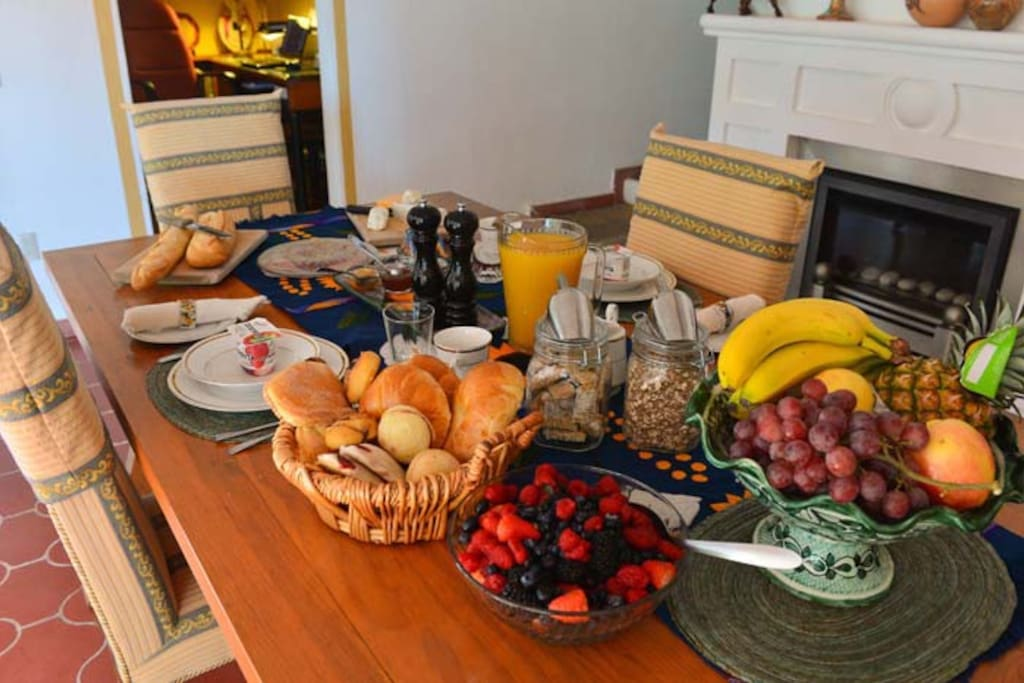 A breakfast to enjoy at your leisure