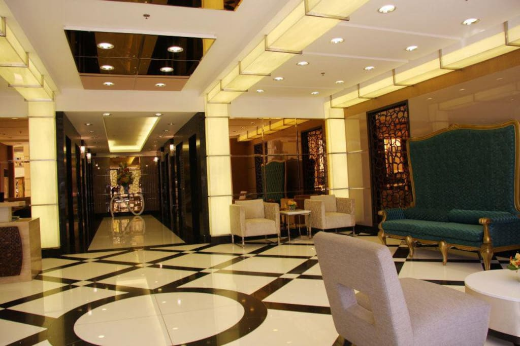 Lobby with doorman and concierge. Key card access to elevator