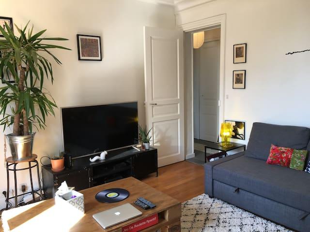 Cosy 9th, Calm & Luminous - 2 Bedrooms (55m²) - Pariisi - Huoneisto
