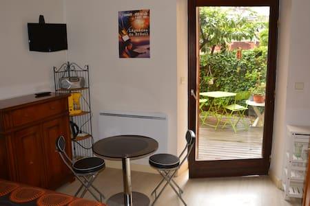 Annecy centre : studio avec jardin - Annecy