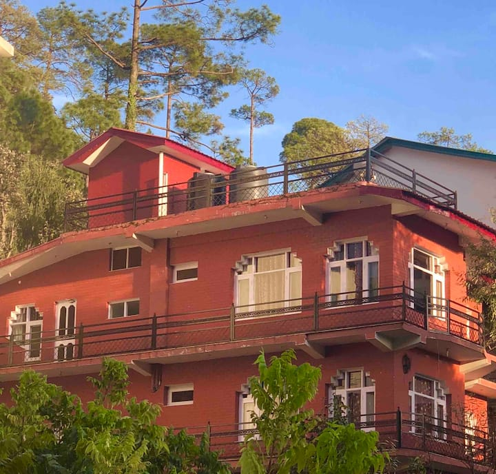 Nature's Abode - Terrace Panorama amidst Pines