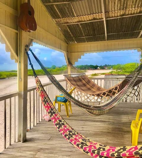 Quartos em Casa de praia na ilha de algodoal