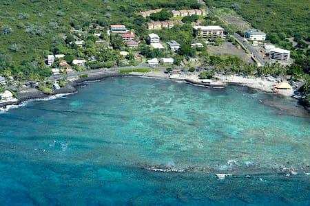 Ryo's Tiki Hut - Oceanfront Studio - Kailua-Kona - Bungalow