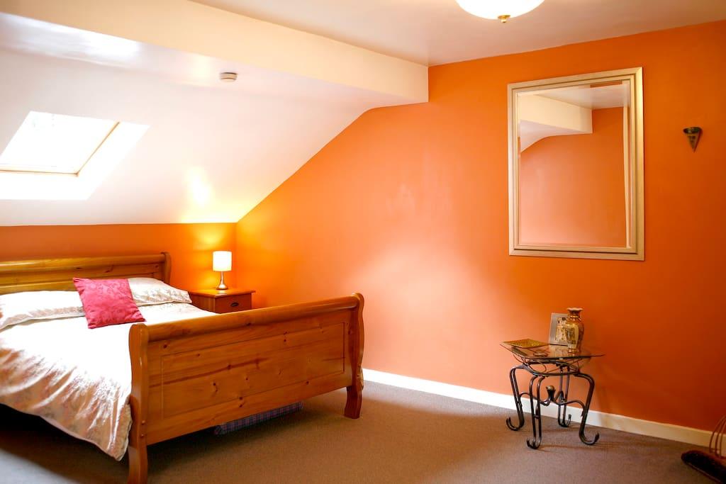 Sweet Bedroom Area