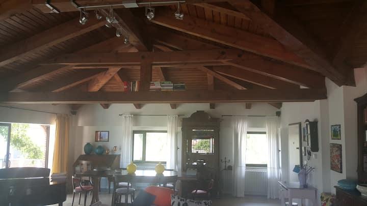 Splendido loft rustico dotato di ogni confort