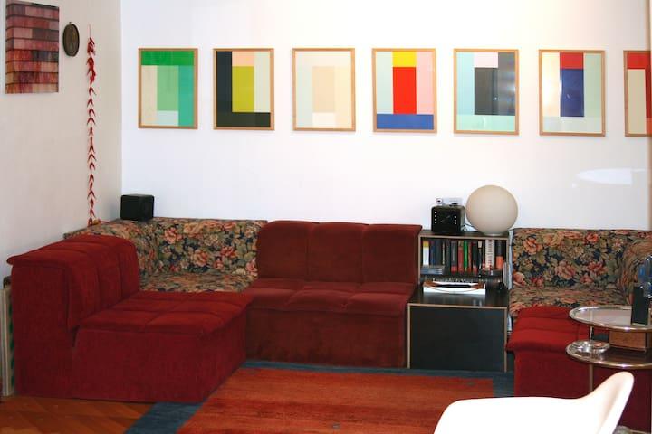 Schönes, großes Zimmer (35 qm) - Frankfurt am Main - Apartment
