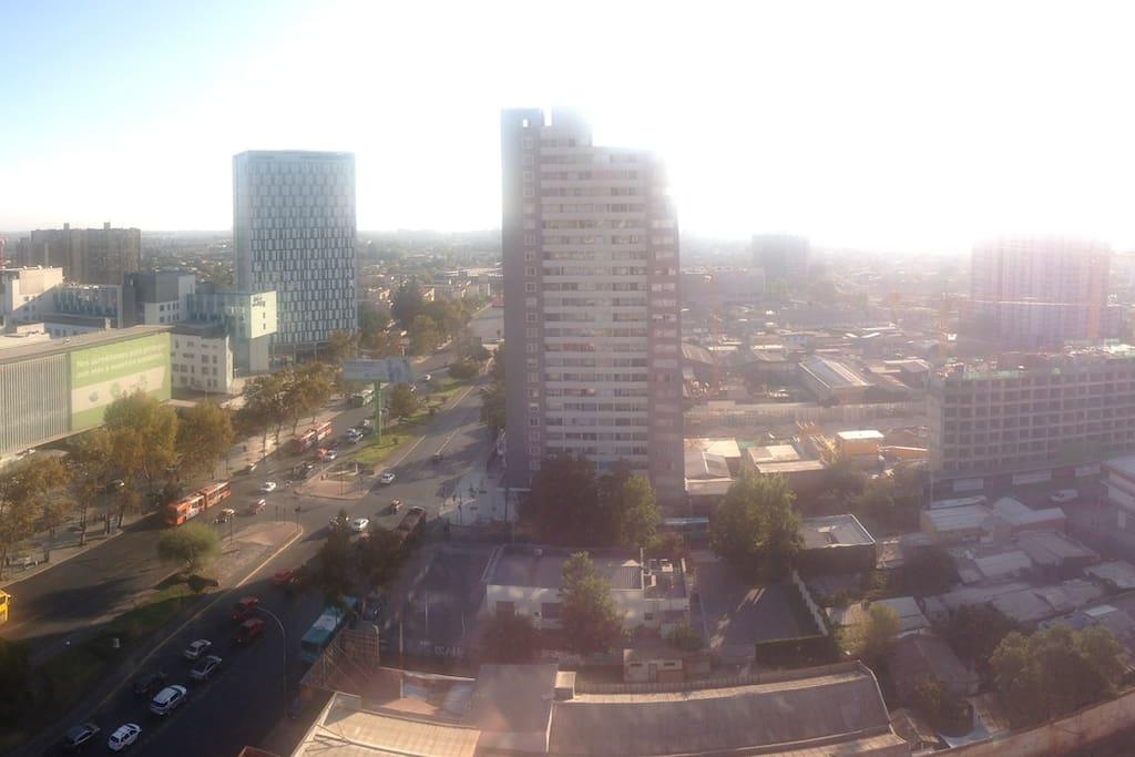 Vista Panoramica Piso 20