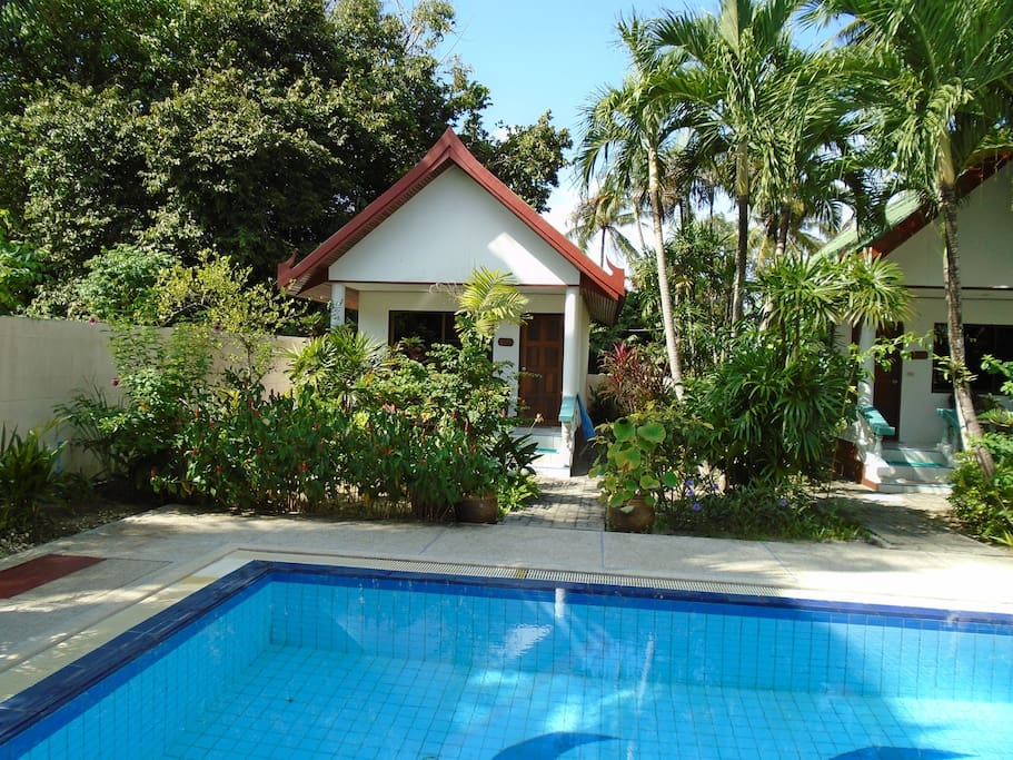 Bungalow am Pool