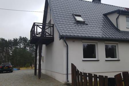 Dom ogrzewany- parter(nad jeziorem) - Strączno
