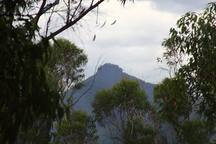 The view to Pigeon House Mountain.